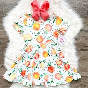 Girl Boutique Peach Dress